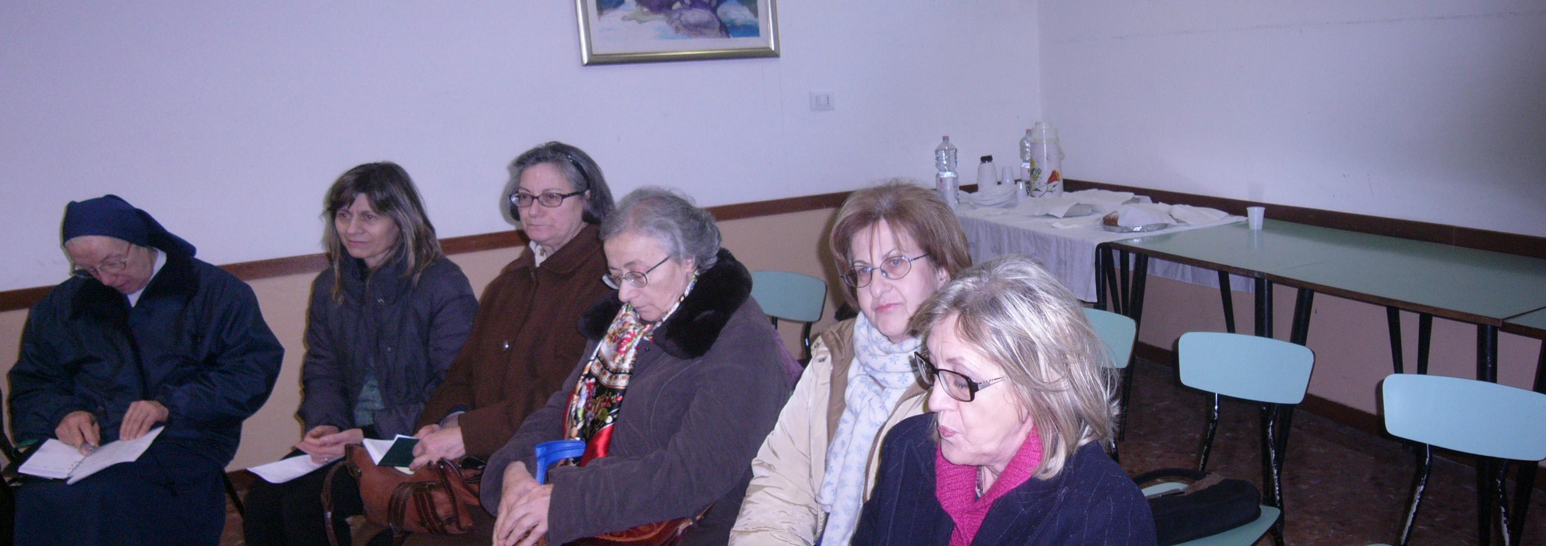 Caritas Parrocchiali incontro a S Gioacchino